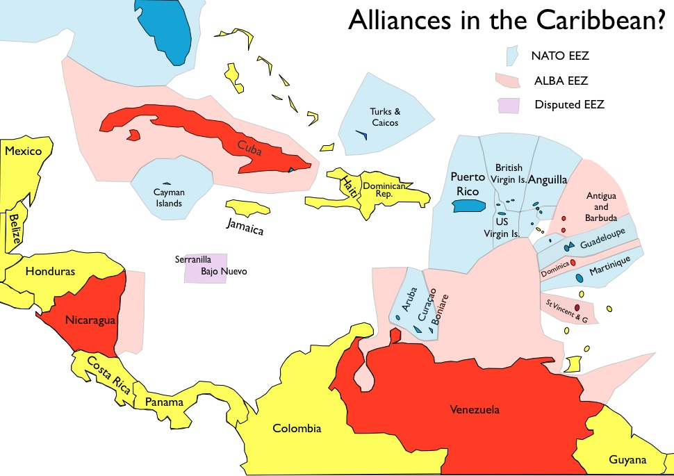 Caribbean Geopolitical Rivalry  GeoCurrents