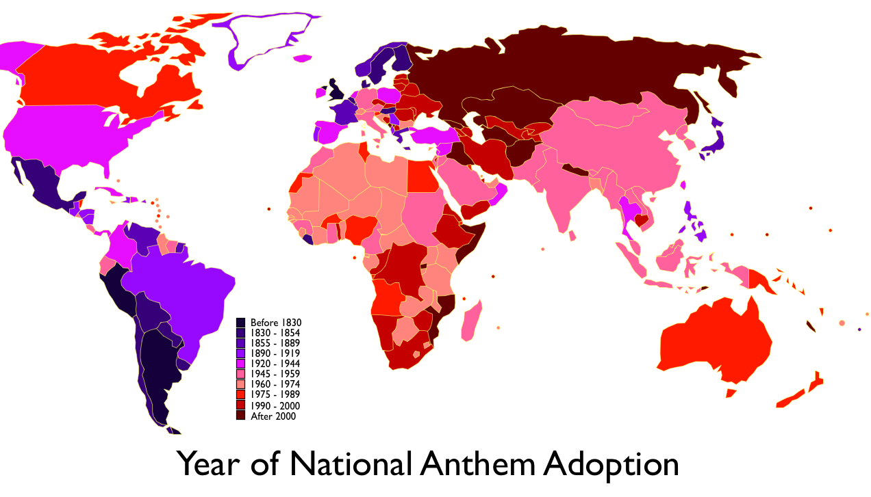 History of the anthem of Russia - history of the country