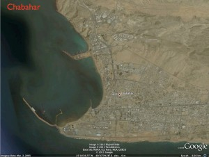 Google Earth Image of Chabahar