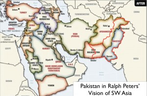 Ralph Peters Alternative Map of the Middle East