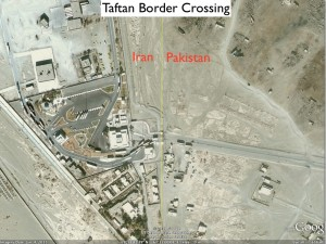 Taftan Border Crossing between Iran and Pakistan