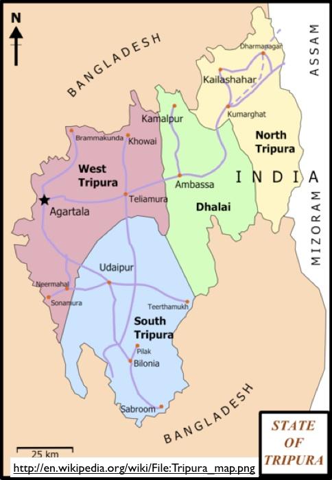 Indias Second Most Dangerous Border  GeoCurrents