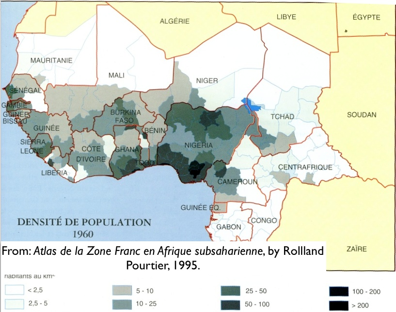 1960 Map Of Africa.The Demographic Dimensions Of The Conflict In Ivory Coast