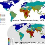 Map Comparing HDI and GDP, State-Based Framework