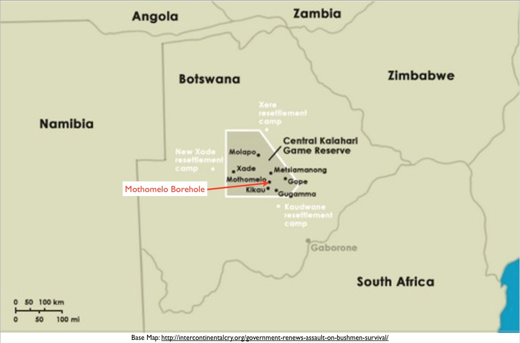 Botswana and the Plight of the San (Bushmen) on kalahari desert on map, san bush people, san people map, south africa kalahari desert map,