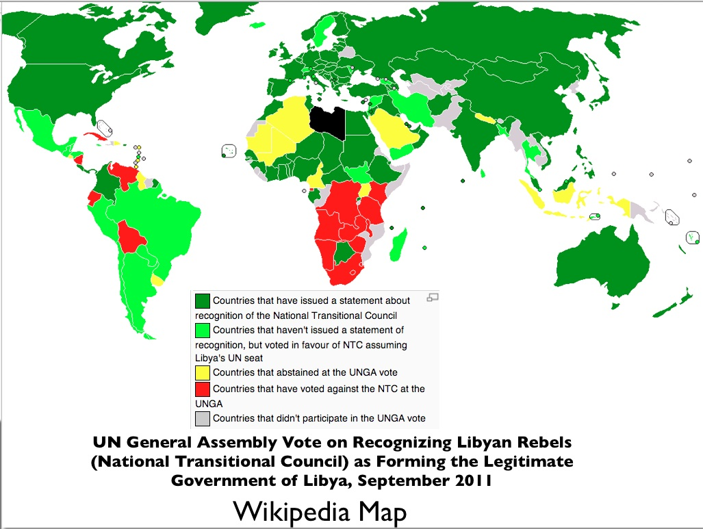 Southern africas support for muammar gaddafi geocurrents map of un vote on recognizing libyan rebels gumiabroncs Choice Image