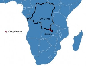 Map of Congo Pedicle Location
