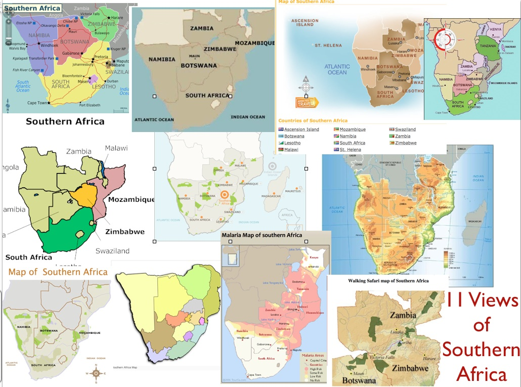 Where is southern africa geocurrents maps of indicating different definitions of southern africa gumiabroncs Choice Image