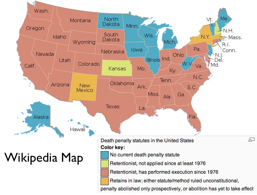 The Geography of the Penalty in the United States on