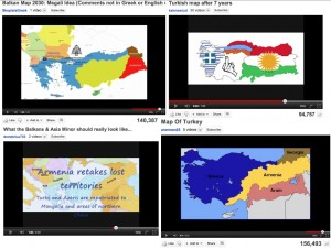 YouTube Maps of Greater Greece