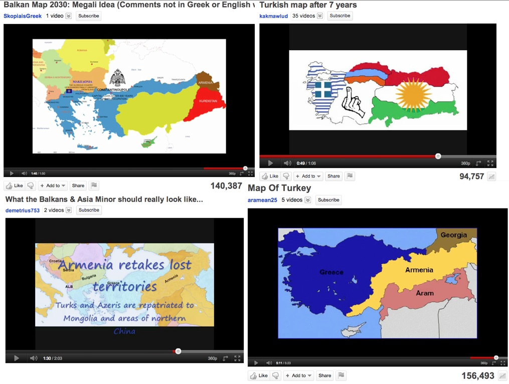 MegaNationalist Fantasy Maps of the Balkans  GeoCurrents