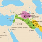 Map of Hurrian Kingdoms, 2300 BCE