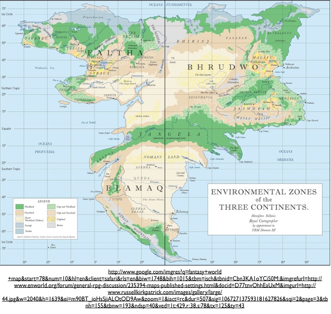 Alternate Earth Map.Geography And Science Fiction The Creation Of Realistic Alternative