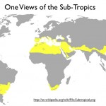 Wikipedia map of the Subtropics