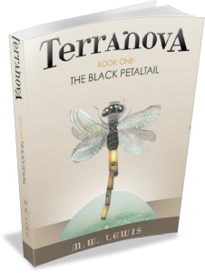 Terranova The Black Petaltail by Martin W Lewis