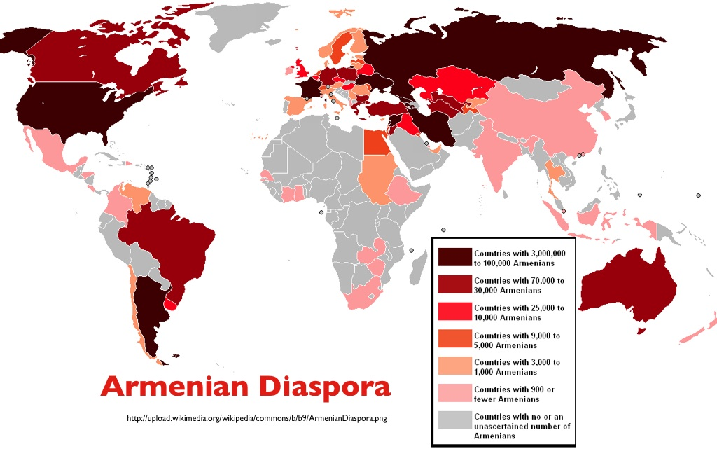 The Armenian Genocide Explained by Maps  Petros Jordan