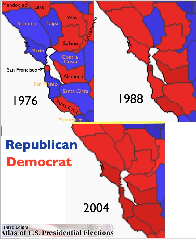 The 1980s Geopolitical Transformation Of California