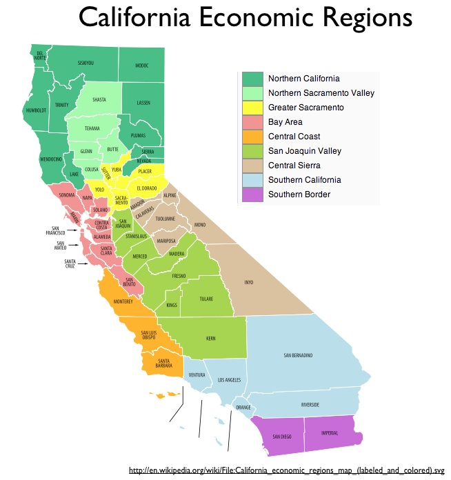 Regionalizing California GeoCurrents