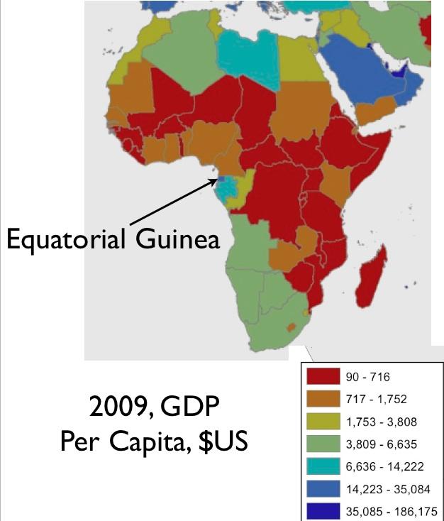 Equatorial Africa Map