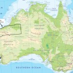 Australia Map, Highlighting the Pilbara