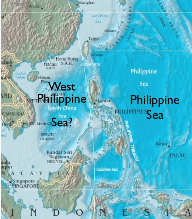 The south china sea or the west philippine sea geocurrents as gumiabroncs