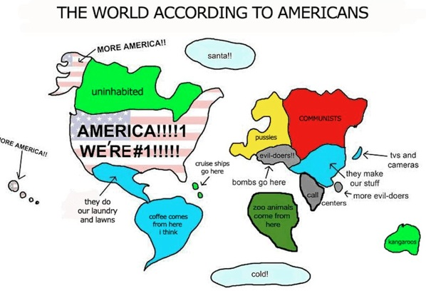 The american world farcical maps geocurrents the world according to americans map gumiabroncs Images