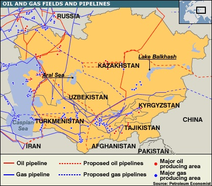 The South Korean Push into Central Asia | GeoCurrents