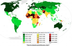 Educational Attainment Map Wikipedia