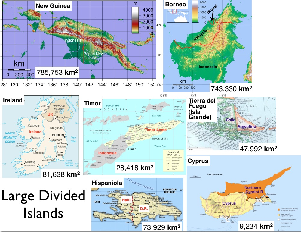 Divided Islands Large and Small GeoCurrents