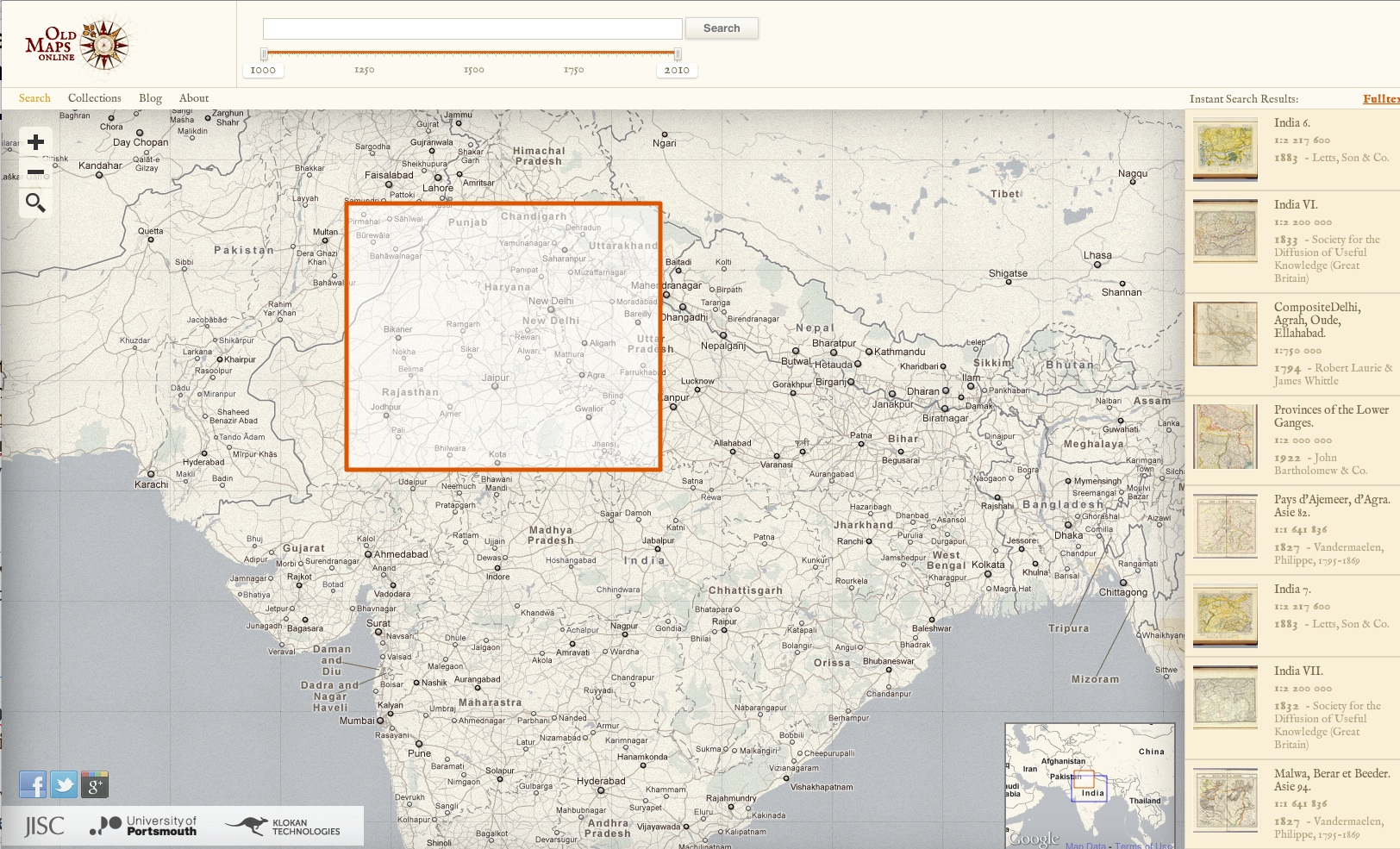 Old Maps Online Yet Another Cartographic TreasureTrove GeoCurrents - Buy old maps online