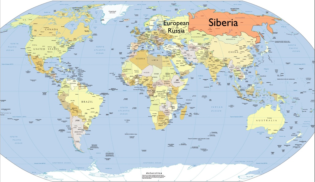 Image result for area of siberia