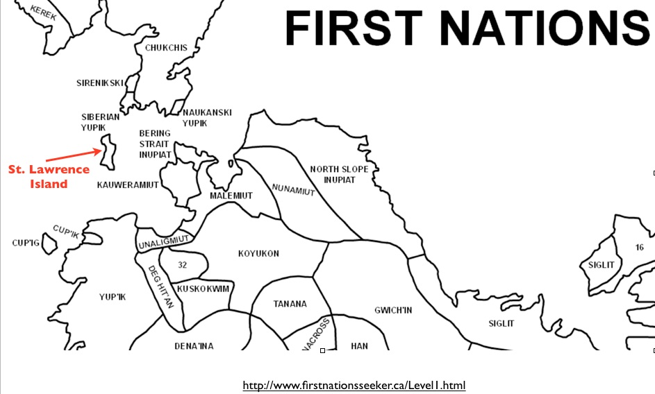 Maps of Indigenous North America on First Nations Seeker GeoCurrents