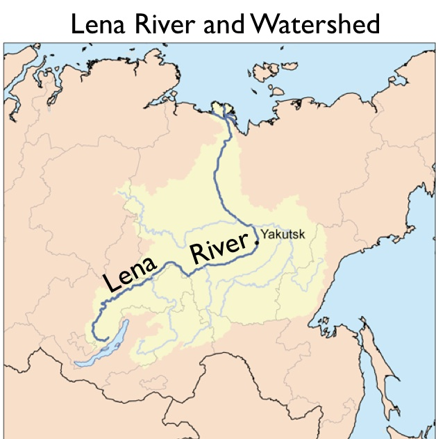 Introduction To Yakutia Sakhaand Russias Grandiose Plans For - Ob river on world map