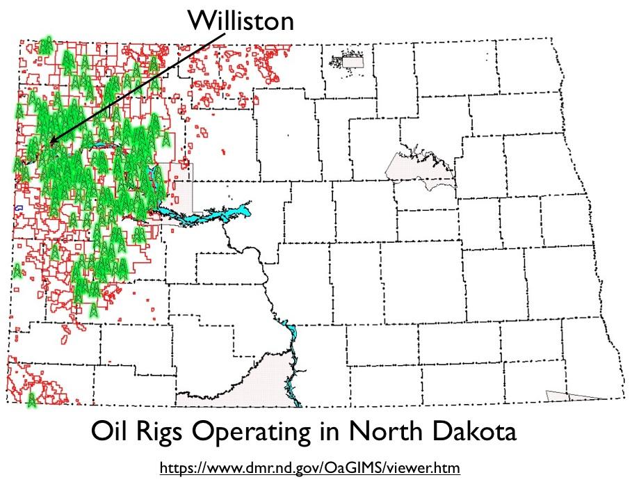 Problems Surrounding The OilBoom In Northwestern North Dakota - Where is north dakota