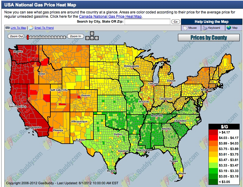Regional Variation in Gasoline and Electricity Prices in the United ...