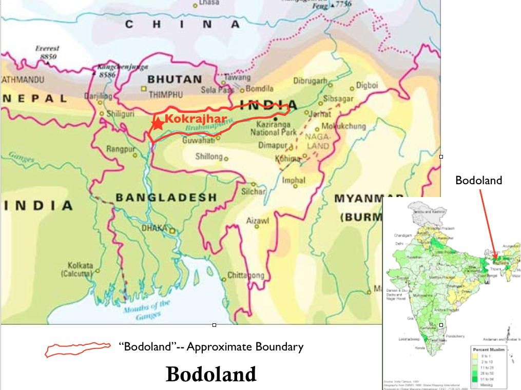 Fighting Flares in Bodoland GeoCurrents