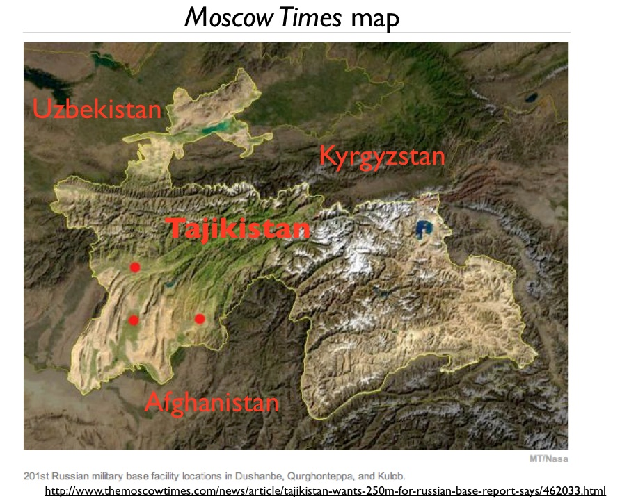 Russian Military Bases and Other Geopolitical Maneuverings in