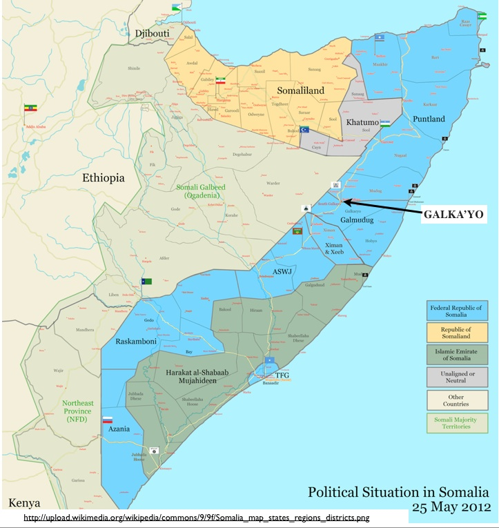 Puntland S Security Offensives And The Growing City Of Galka Yo