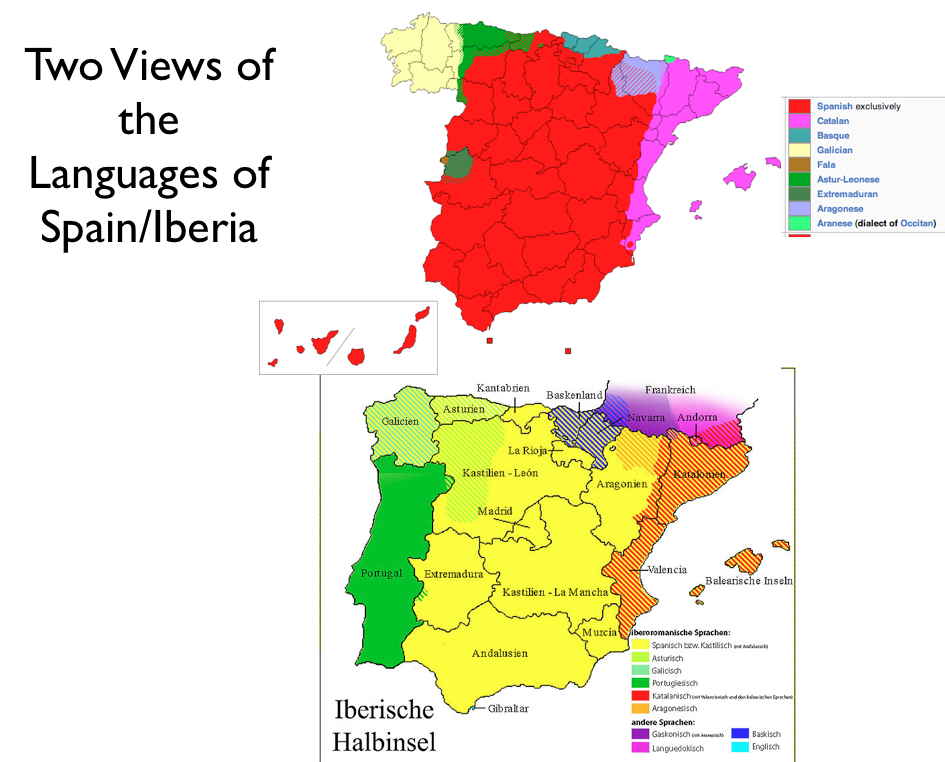 Language mapping GeoCurrents