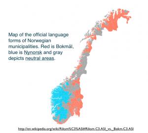 bokmål nynorsk nøytral