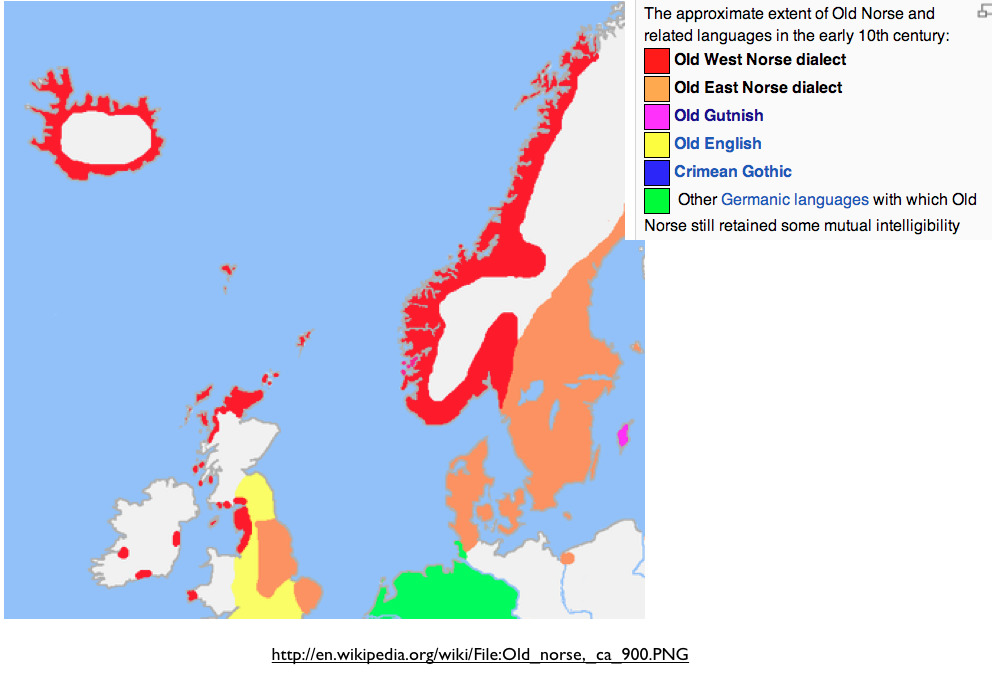 Errors In Mapping IndoEuropean Languages In Bouckaert Et Al - Norway language map