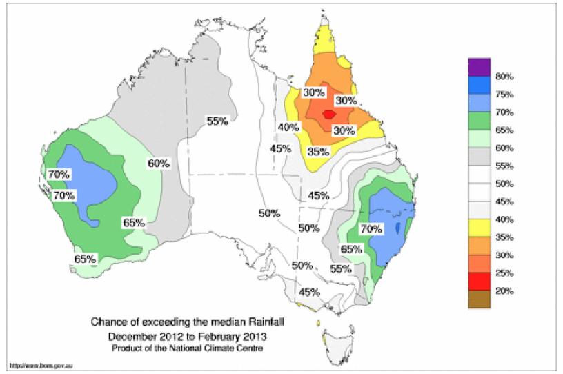 Climate Map Annual Climate Summary 2016 Seasonal Outlook Warmer