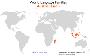 Austronesian Language Family Map