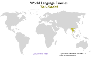 Tai-Kadai Language Family Map