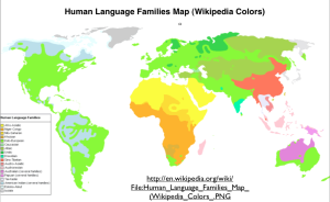 World Maps of Language Families | GeoCurrents