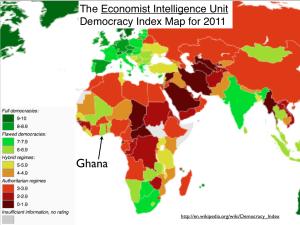 Africa Democracy Index Map