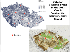 Czech Election Franz Vote Map