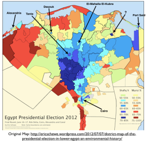 Nile delta Election Map