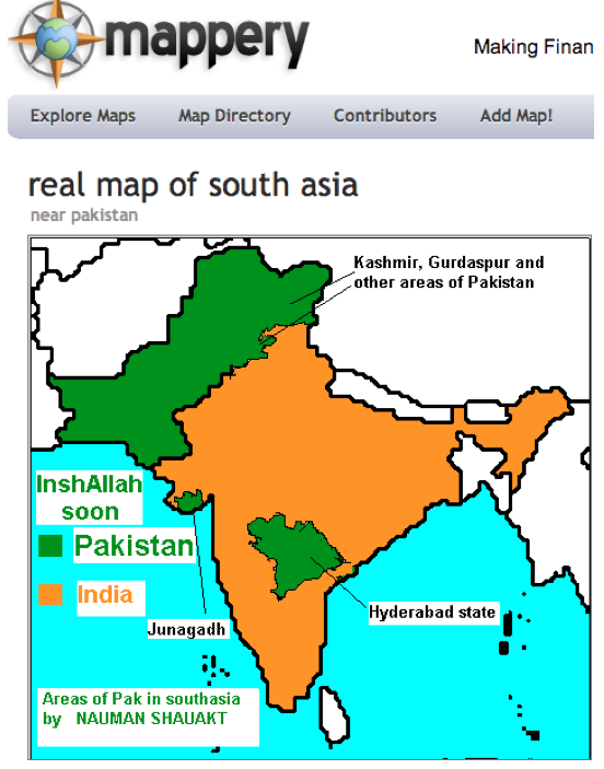 Actual Map Of India.Mappery And The Problems With True And Real Maps Geocurrents