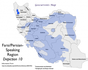 Farsi Language Map 10